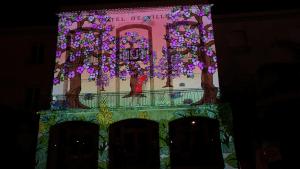 Mapping vidéo - Nuit de Chine - Lavandou